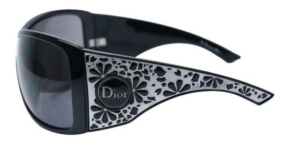 Óculos De Sol Modelo Máscara Preto Dior Original