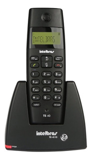 Telefone Sem Fio Intelbras Ts40 Com Identificador De Chamada