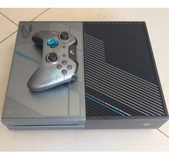 Xbox One 1tb Edição Limitada Halo 5
