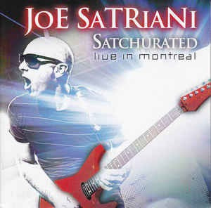 Imagem 1 de 1 de Cd Duplo Joe Satriani Satchurated: Live In Montreal Lacrado