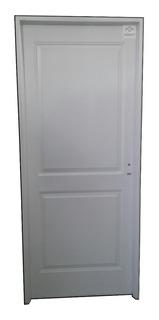 Puerta De Chapa Simple Reforzada 80x200