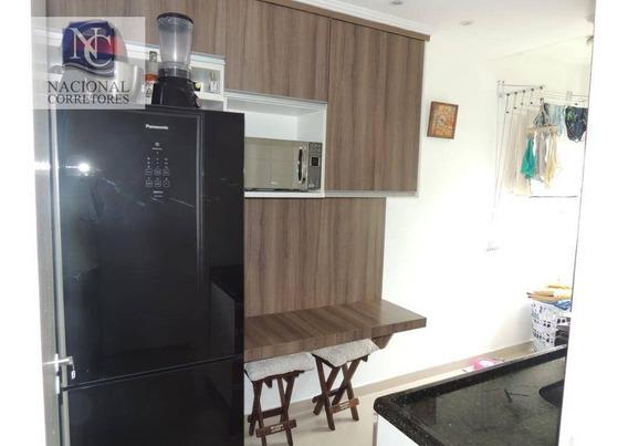 Apartamento Com 1 Dormitório À Venda, 50 M² Por R$ 240.000,00 - Parque Erasmo Assunção - Santo André/sp - Ap9823