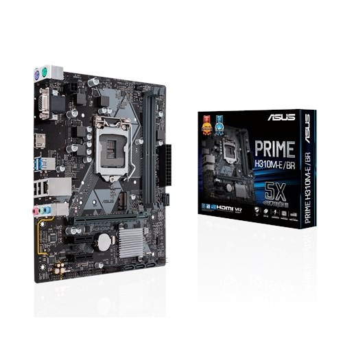 Placa-mãe Asus Prime H310m-e/br. Lga1151 / 8ª Geração / Ddr4