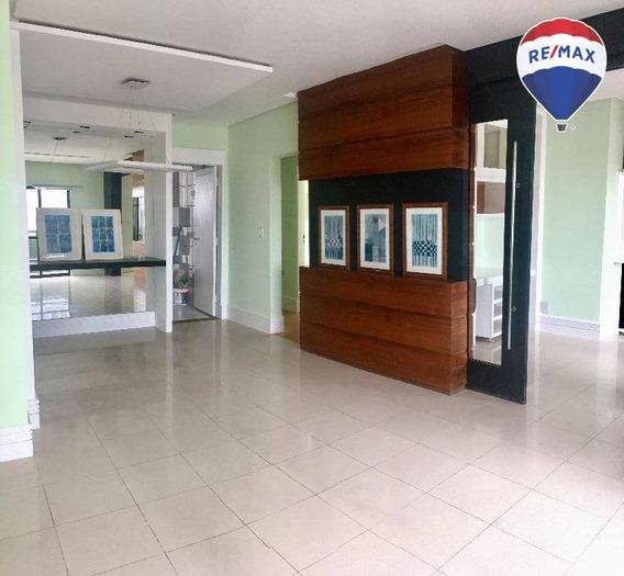 Apartamento Com 3 Dormitórios, 127 M² - Batista Campos - Belém/pa - Ap0513