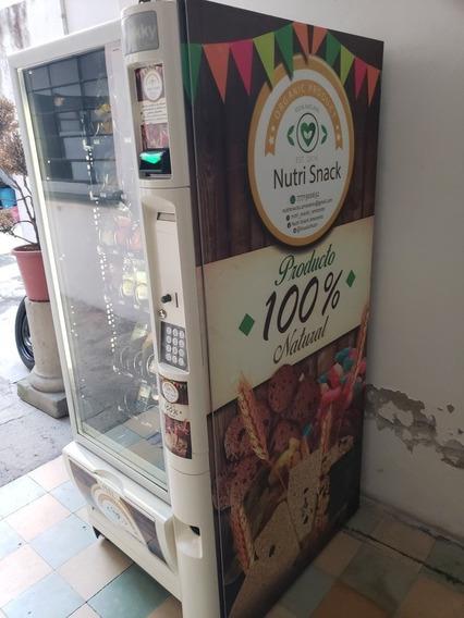 Maquina Expendedora Snakky Necta Botana Y Refresco Refri Sem