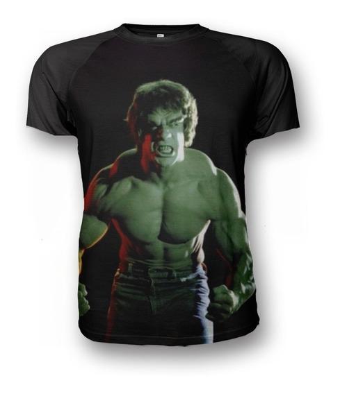 Remera El Increible Hulk Series Retro