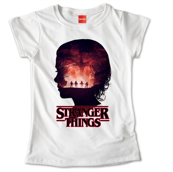 Blusa Stranger Things Colores Playera Estampado Once #783