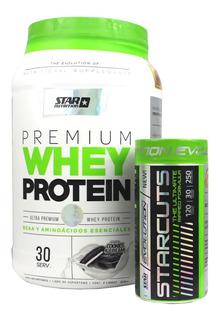 Premium Whey Protein X 1 Kg + Starcuts X120 Star Nutrition