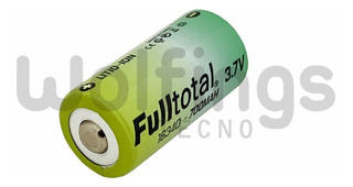 Pila Bateria El-cr 123a 16340 Recargable Litio 3.6v 700 Mah