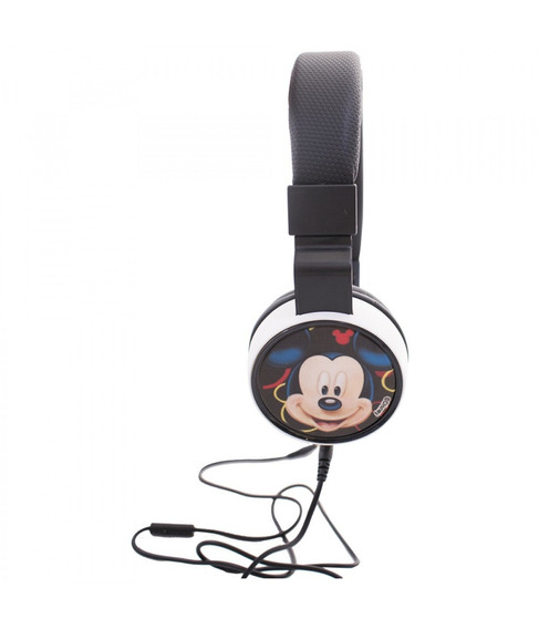 Fone De Ouvido Supra Auricular Mickey - Disney - Preto