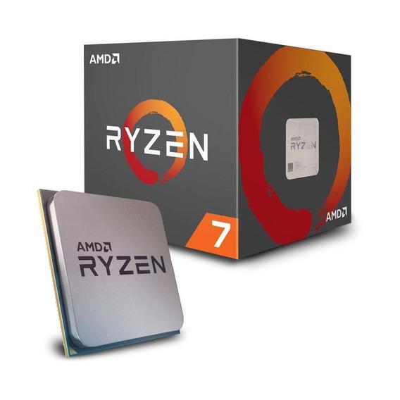 Processador Amd Ryzen 7 2700x 3.7ghz Am4 Yd270xbgafbox Amd