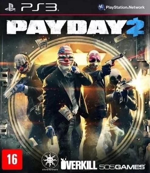 Payday 2 Ps3 - Leia Descrição