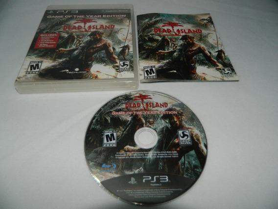 Dead Island - Ps3 Mídia Física - Completa