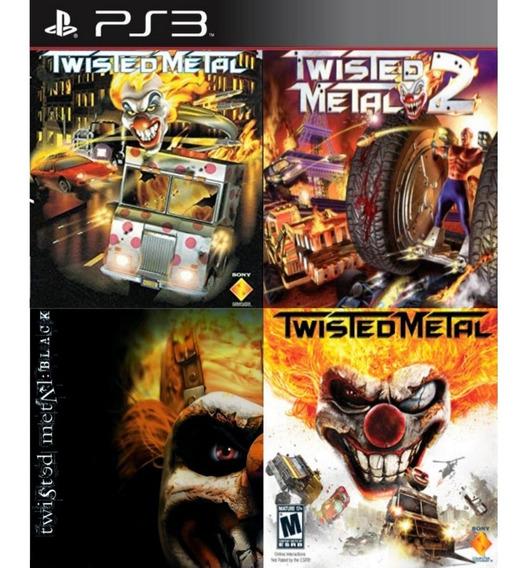 Twisted Metal Bundle 4 Em 1 - Psn Ps3 Play 3