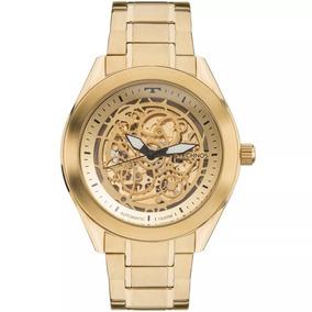 Relógio Technos Masculino Automatic Dourado - Loja