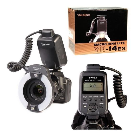 Yongnuo Flash Circular Macro Yn-14ex Canon Ring Lite Ttl Sp