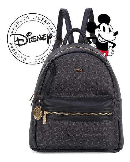 Bolsa Mochila Mickey Mouse Silhueta - Original Disney