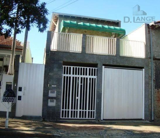 Vendo 02 Casas V. Industrial - Ótimas P/ Renda Ou Moradia - Com 4 Dormitórios À Venda, 189 M² - Campinas/sp - Ca5326