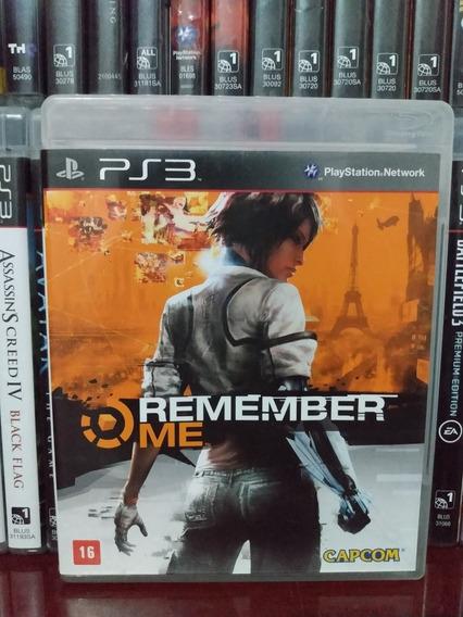 Remember Me Original Ps3 | Parcelamento Sem Juros