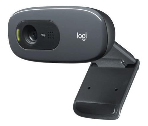 Imagen 1 de 4 de Cámara Web Hd Logitech C270, 1280 X 720p, Micrófono, Usb