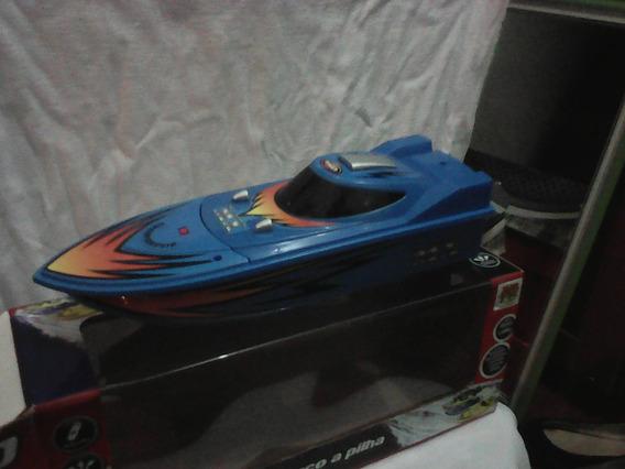Miniatura Barco A Pilha