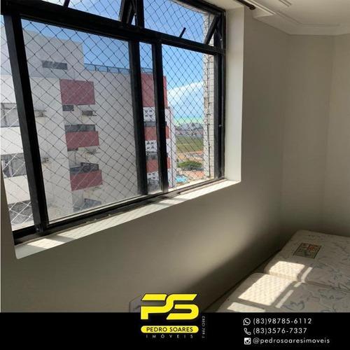 Imagem 1 de 10 de Cobertura Com 5 Dormitórios À Venda, 456 M² Por R$ 1.300.000,00 - Bessa - João Pessoa/pb - Co0062