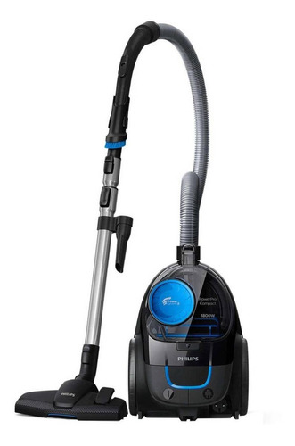 Imagen 1 de 3 de Aspiradora Philips PowerPro Compact FC9350/51 1.5L  negra 220V