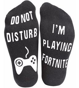 Calcetines Cortos Deportivos Do Not Disturb Fortnite Gaming