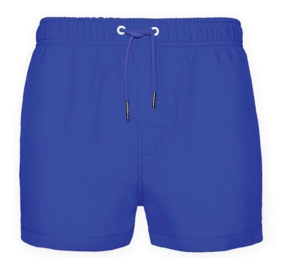 Traje De Baño Secado Rápido Azul Crouch