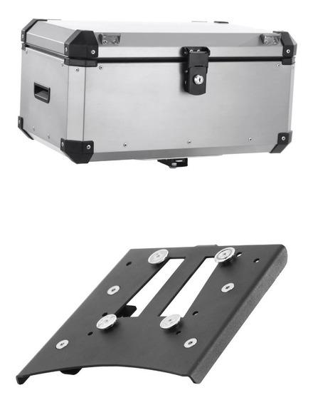 Bau Bauleto Roncar 56 Litros + Base Suporte Bmw F800gs