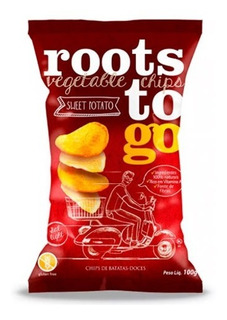 Snack Salgado Roots To Go Batata Doce 45gr