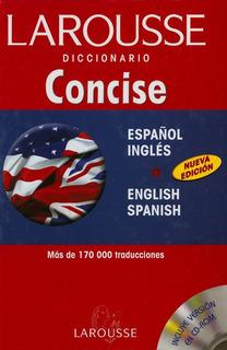 Diccionario Concise Español-ingles (1515)