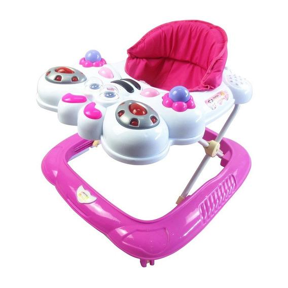 Andador Infantil Bebe Recreativo Musical Ajustável Até 12kg