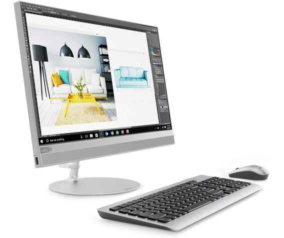 Computadora Lenovo All In One 520-22 21.5 Fhd Amd A9 8gb Ram