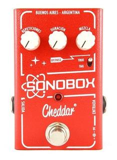 Pedal Efecto Guitarra Electrica Sonobox Cheddar Delay