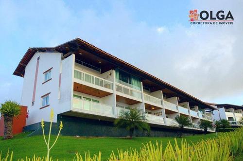 Flat No Villa Hípica, À Venda - Gravatá/pe - Fl0074