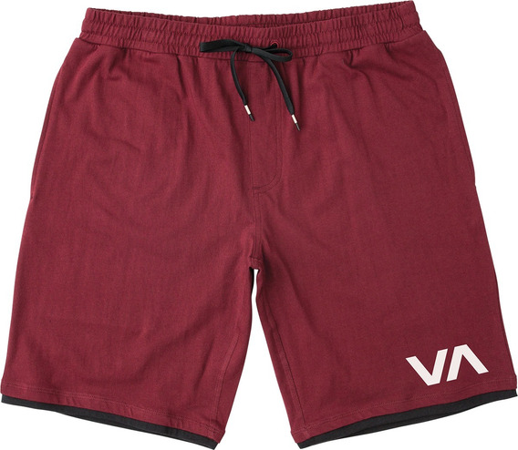 Short Rvca, Mod. Layers Ii 19 In Short., Color Tpo.
