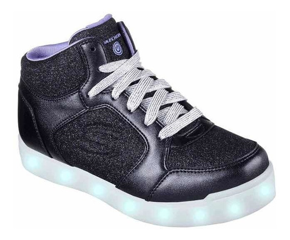 Zapatos Con Luces Skechers Energy Lights Niñas Talla 34