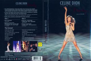 Dvd Doble Celine Dion Live In Las Vegas En Stock Musicanoba