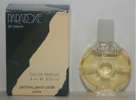 Miniatura De Perfume: Cardin (pierre) - Paradoxe - 4 Ml