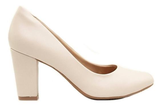 Zapatos Clásicos Mujer Cuero Ecológico Blanco Marta Sixto