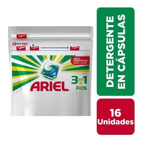 Jabón En Cápsulas Ariel Pods - 16 Unidades