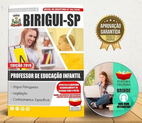Apostila Birigui-sp 2019 - Professor De Educação Infantil