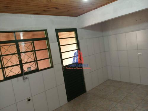 Imagem 1 de 8 de Casa Com 1 Dormitório À Venda, 40 M² Por R$ 150.000,00 - Balneário Riviera - Americana/sp - Ca1675