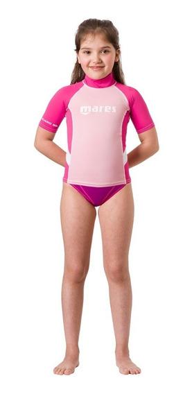 Remera Filtro Uv Mares Rash Guard Junior Girl