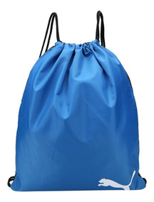 Bolsa Sacola Puma Azul Pro Training Gym Original Unissex