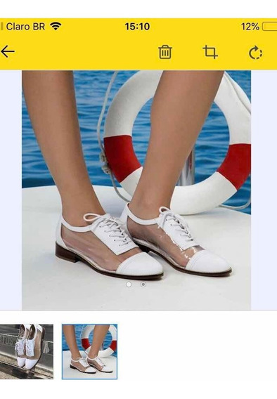 Tênis Sapato Transparente Cs Carmen