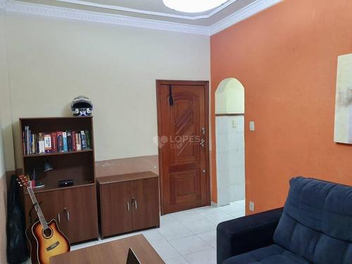 Apartamento Com 1 Quarto, 57 M² Por R$ 200.000 - Centro - Niterói/rj - Ap46969
