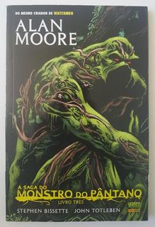 A Saga Do Monstro Do Pântano Livro Três Alan Moore