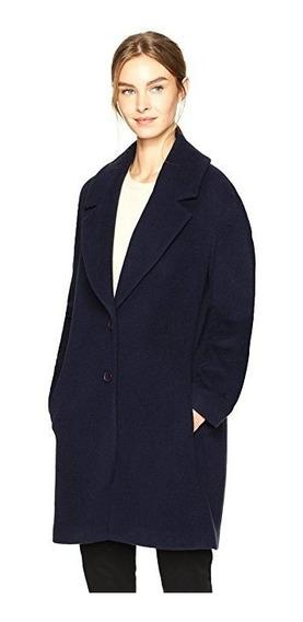Gabardina Abrigo Dama Casual Elegante Botones Saco Blazer